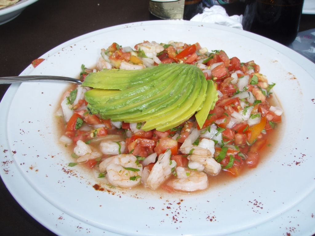 typical mexican ceviche