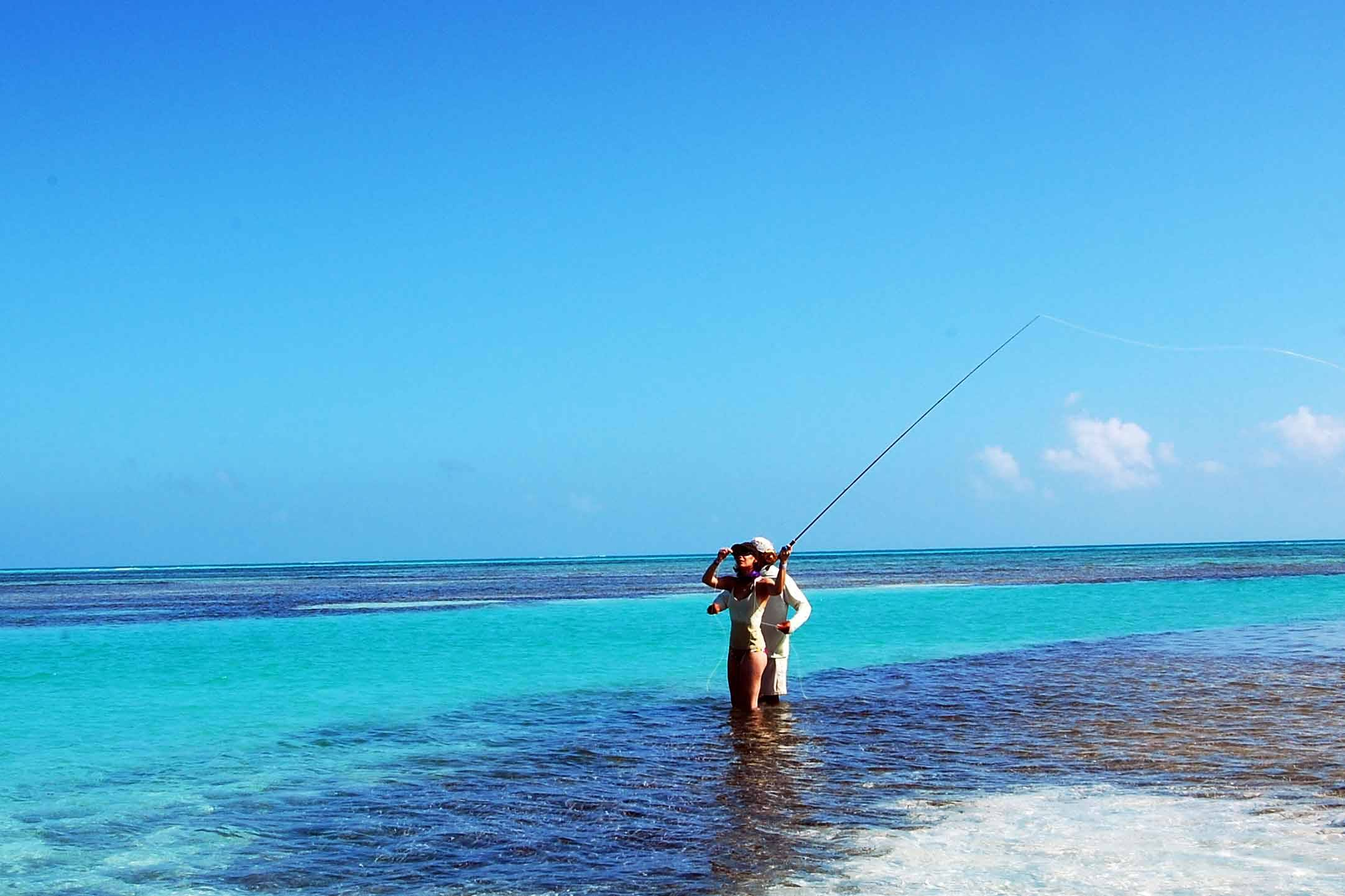 punta allen fishing lodge grand slam fly fishing mexico